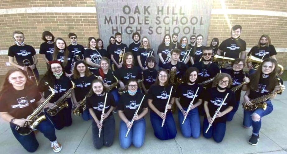 Photo of the 2021 Honors Band